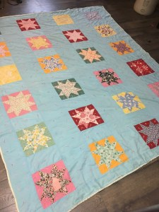 antique sawtooth quilt